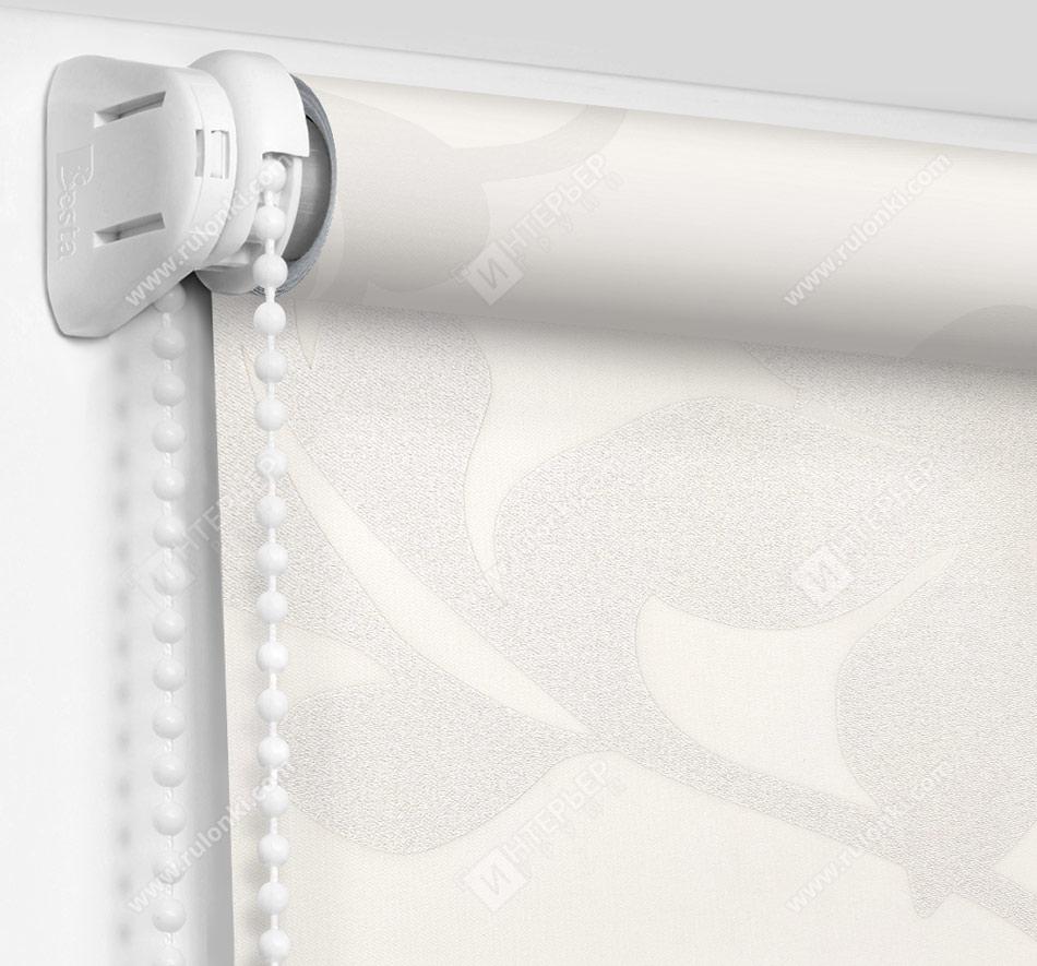 Рулонные шторы Мини - Ажур белый