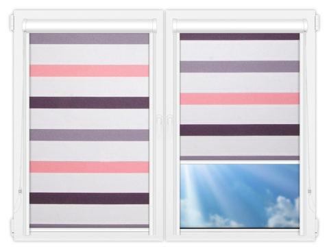 Рулонные кассетные шторы УНИ - Этаж-601