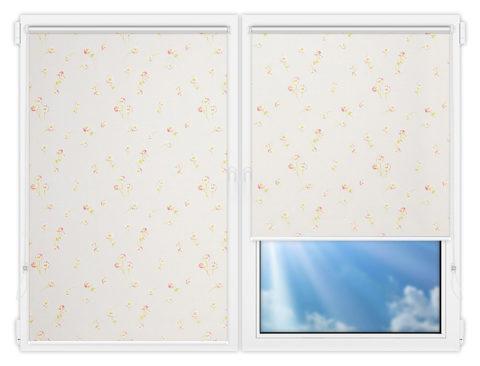 Рулонные шторы Мини - Камила-5 на пластиковые окна