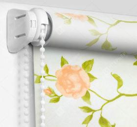 Рулонные шторы Мини - Крымская роза розовый