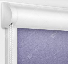 Рулонные кассетные шторы УНИ - Металлик аметист