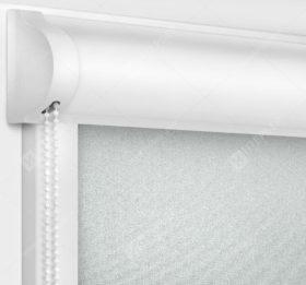 Рулонные кассетные шторы УНИ - Металлик перл