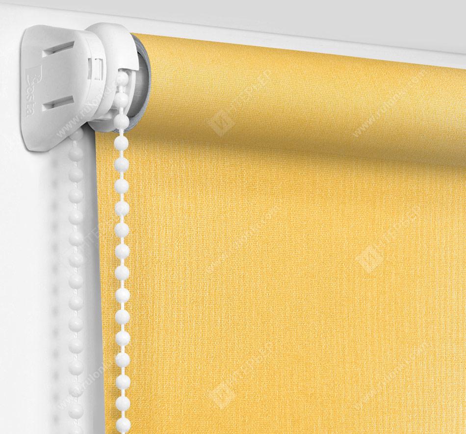 Рулонные шторы Мини - Металлик желтый