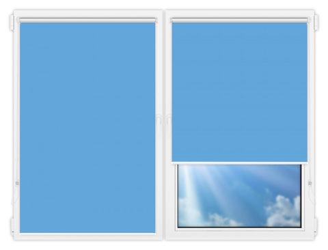 Рулонные шторы Мини - Мюнхен-19 на пластиковые окна