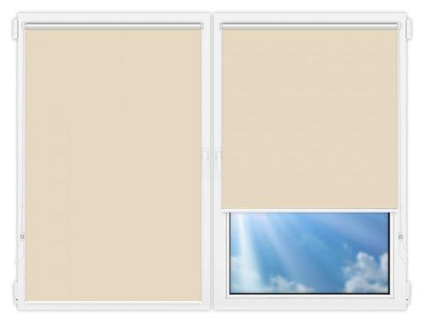 Рулонные шторы Мини - Мюнхен-блэкаут-60 на пластиковые окна