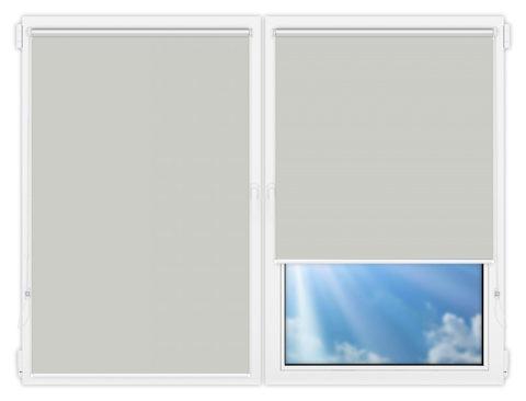 Рулонные шторы Мини - Мюнхен-перл-10 на пластиковые окна