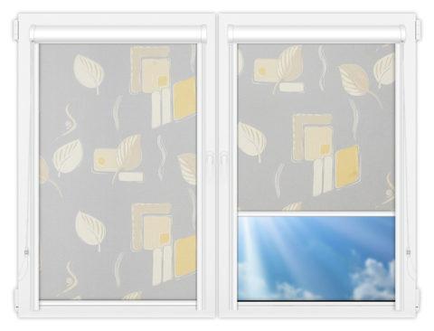 Рулонные кассетные шторы УНИ - Опус-грей