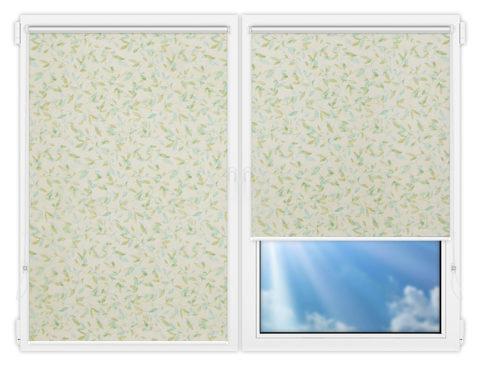 Рулонные шторы Мини - Плато-саммер на пластиковые окна