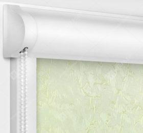 Рулонные кассетные шторы УНИ - Шелк молочный