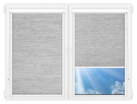 Рулонные кассетные шторы УНИ - Шикатан-7
