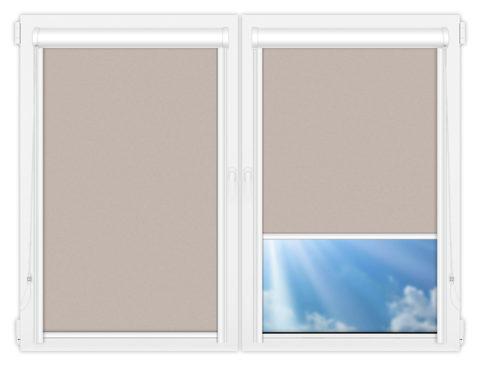 Рулонные кассетные шторы УНИ - Скрин-6