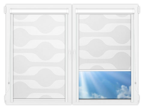 Рулонные кассетные шторы УНИ - Вискан-1
