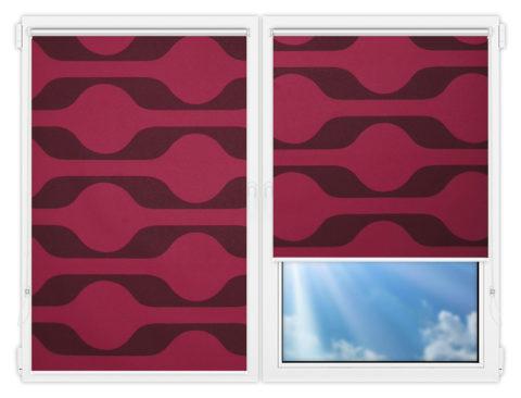Рулонные шторы Мини - Вискан-401 на пластиковые окна