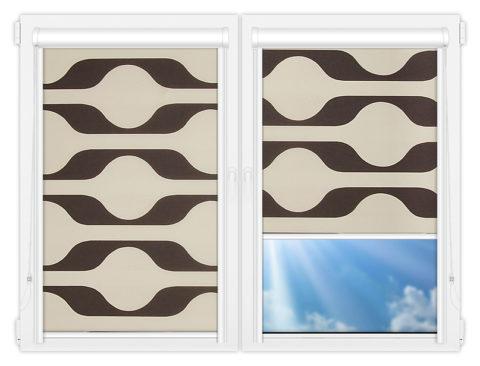Рулонные кассетные шторы УНИ - Вискан-701