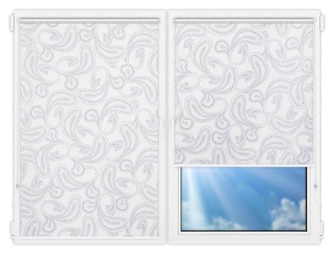 Рулонные шторы Мини - Бомбей-3 на пластиковые окна