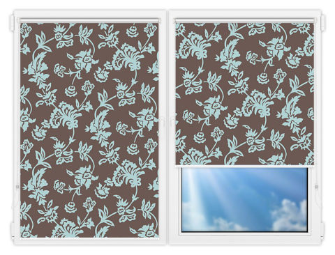 Рулонные шторы Мини - Калифорния-4 на пластиковые окна