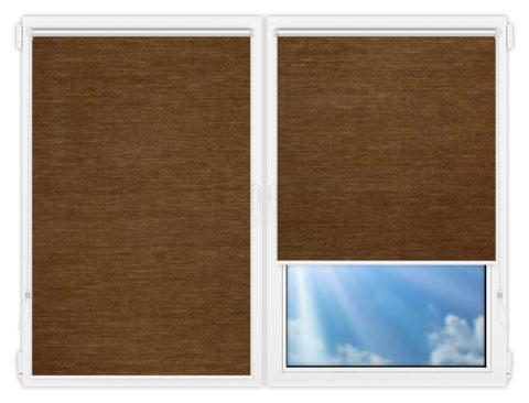 Рулонные шторы Мини - Шикатан-5 на пластиковые окна