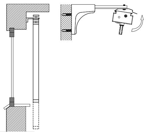 Монтаж вертикальных жалюзи