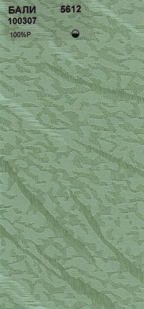 Вертикальные тканевые жалюзи Бали темно-зеленый