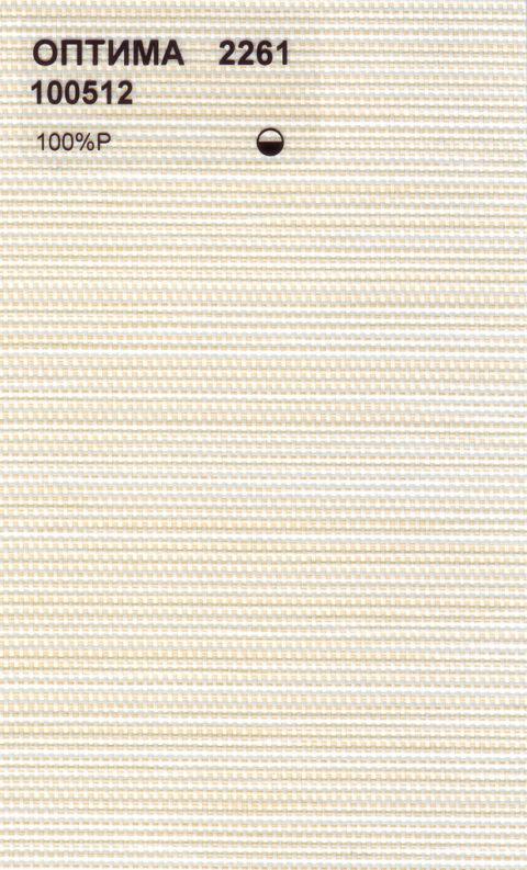 Вертикальные тканевые жалюзи Оптима светло-бежевый