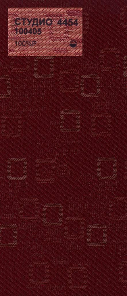 Вертикальные тканевые жалюзи Студио красный