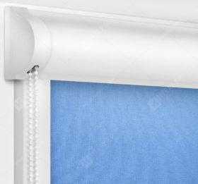 Рулонные кассетные шторы УНИ - Карина светло-синий