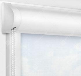 Рулонные кассетные шторы УНИ - Анже белый