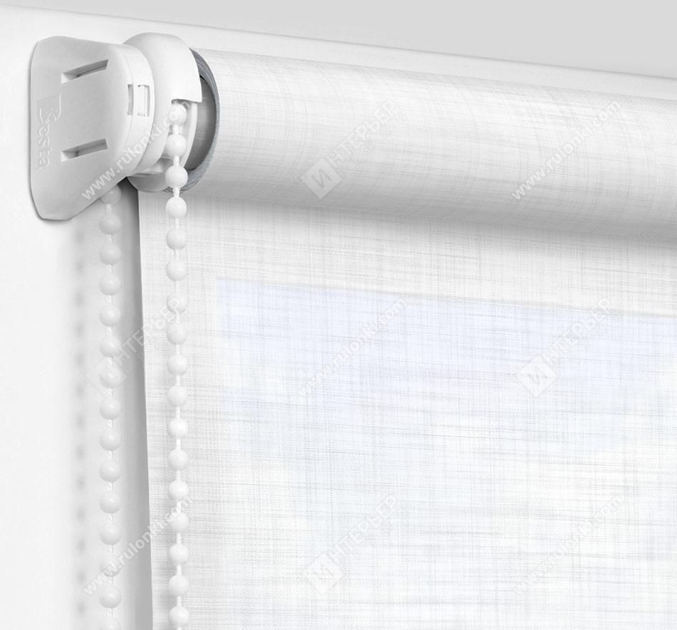 Рулонные шторы Мини - Анже белый