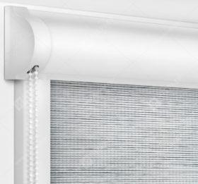 Рулонные кассетные шторы УНИ - Корсо светло-серый