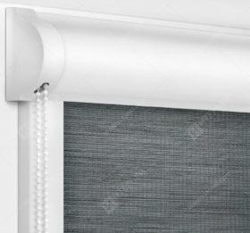 Рулонные кассетные шторы УНИ - Корсо темно-серый