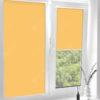 Рулонные кассетные шторы УНИ - Карина светло-желтый