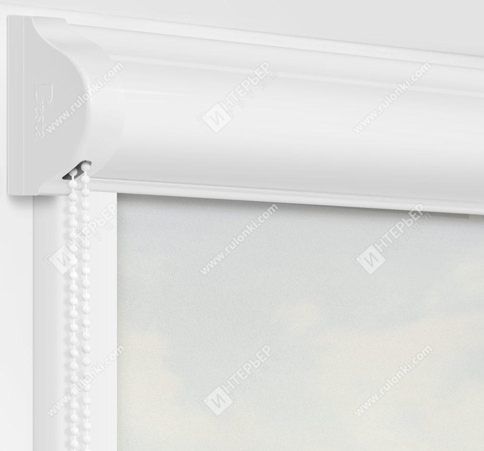 Рулонные кассетные шторы УНИ - Куба бежевый