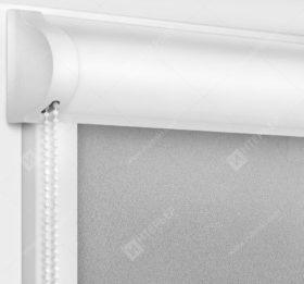 Рулонные кассетные шторы УНИ - Куба серый
