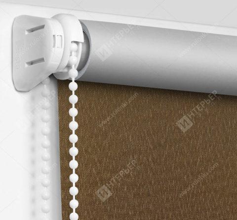 Рулонные шторы Мини - Мадагаскар коричневый