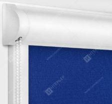 Рулонные кассетные шторы УНИ - Мадагаскар синий
