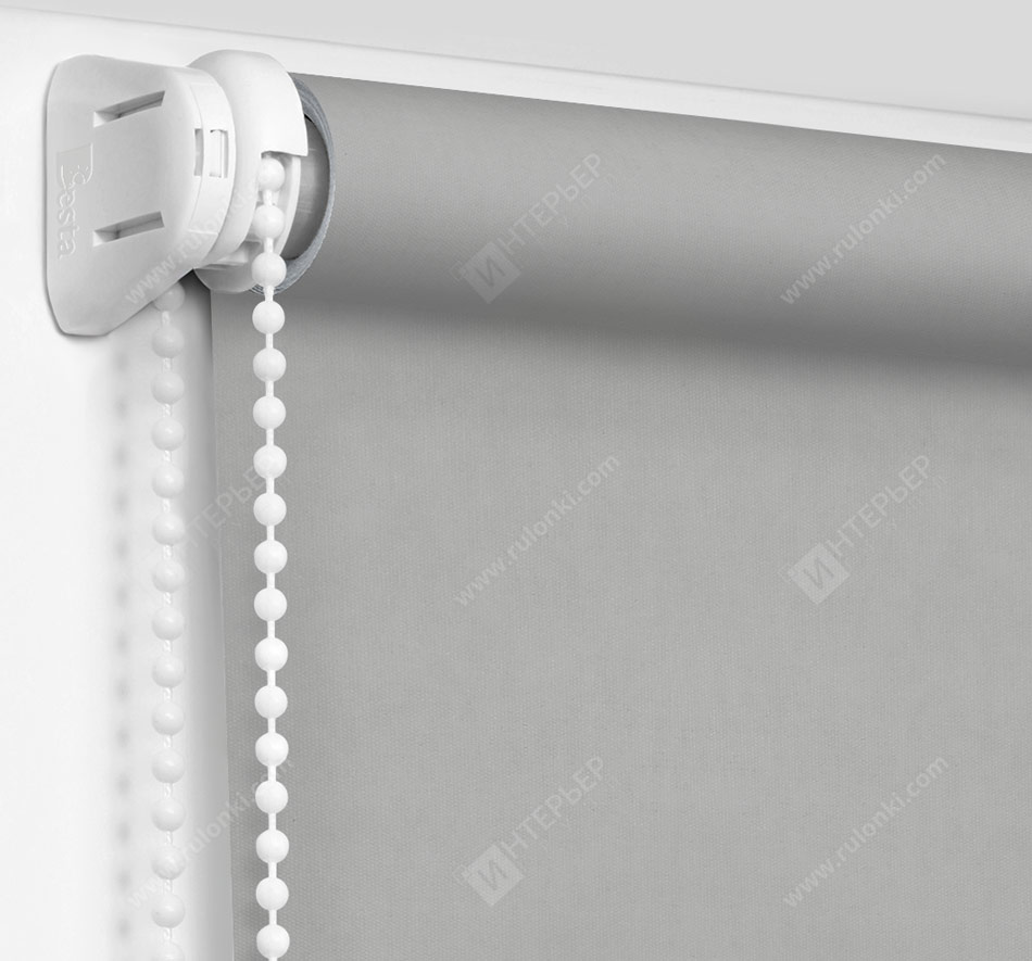 Рулонные шторы Мини - Кейптаун фр светло-серый