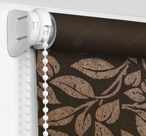 Рулонные шторы Мини - Лейси коричневый