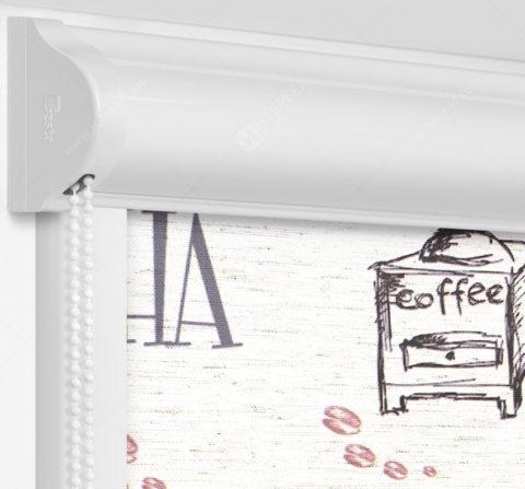 Рулонные кассетные шторы УНИ - Либерика на пластиковые окна