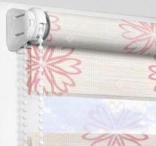 Рулонные шторы День-Ночь - Камино розовый