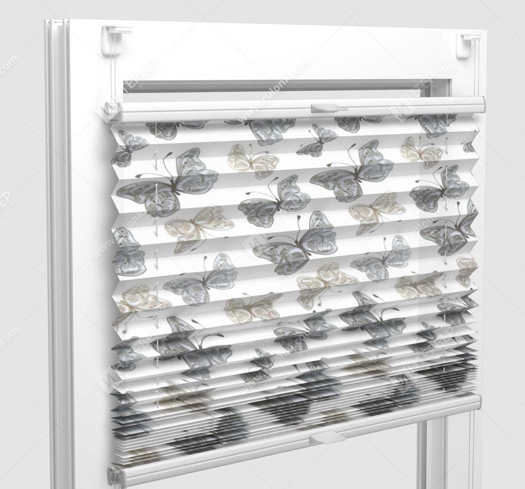 Шторы Плиссе - Того флай на пластиковые окна