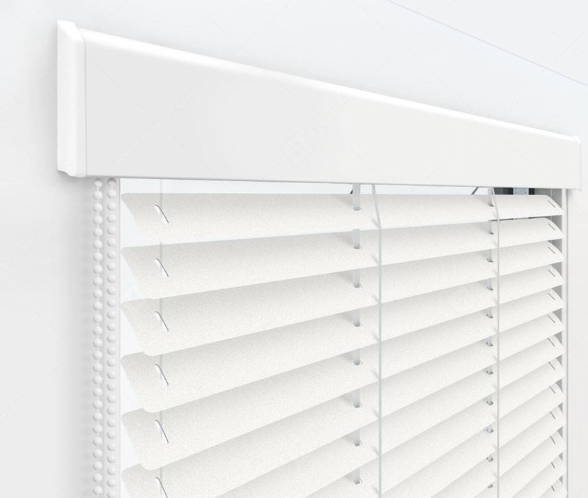 Жалюзи Изолайт 25 мм на пластиковые окна - цвет 1