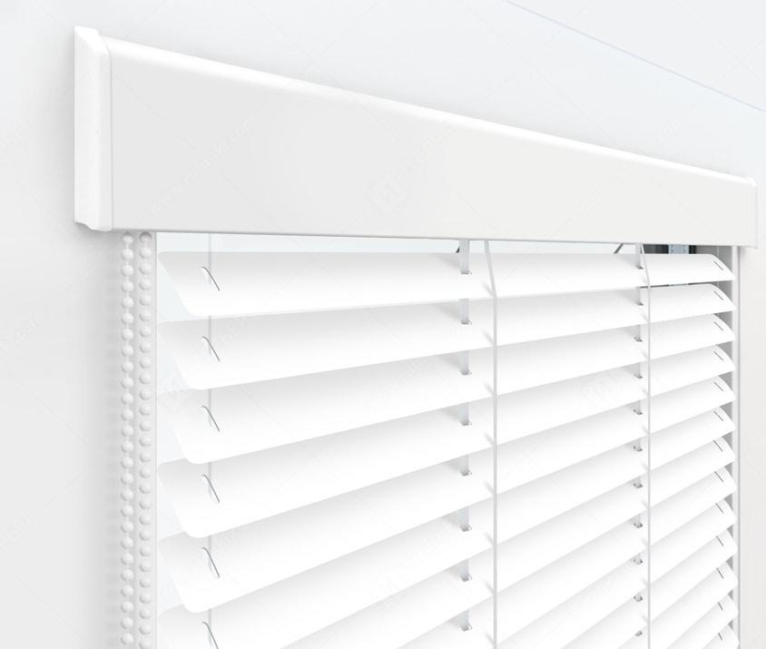 Жалюзи Изолайт 25 мм на пластиковые окна - цвет 104