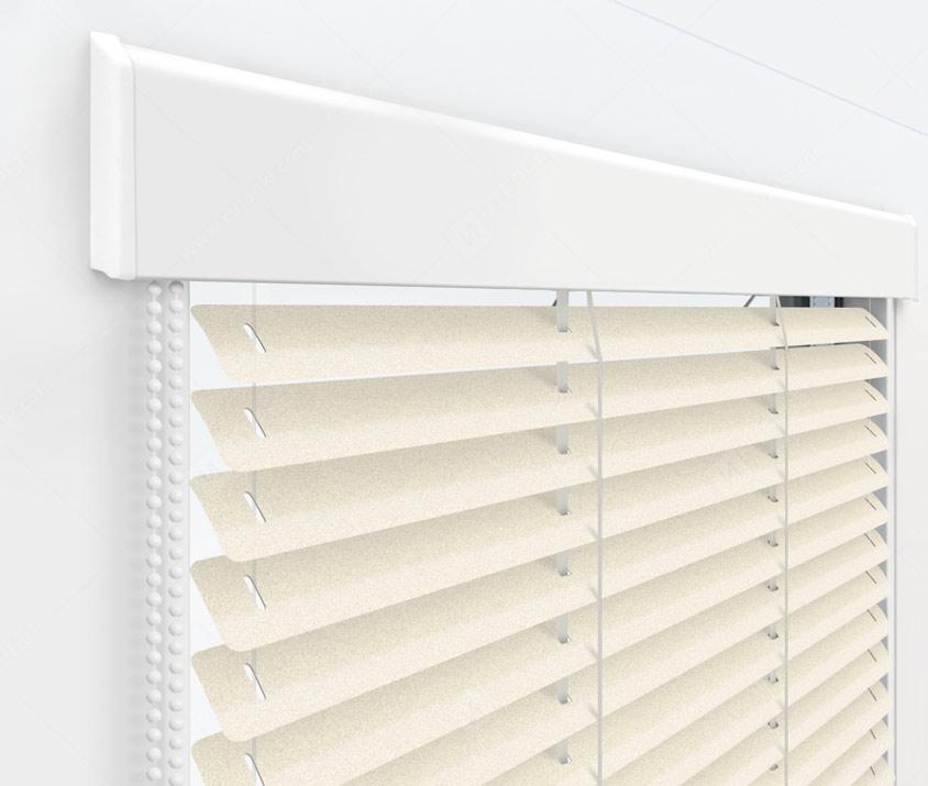 Жалюзи Изолайт 25 мм на пластиковые окна - цвет 203