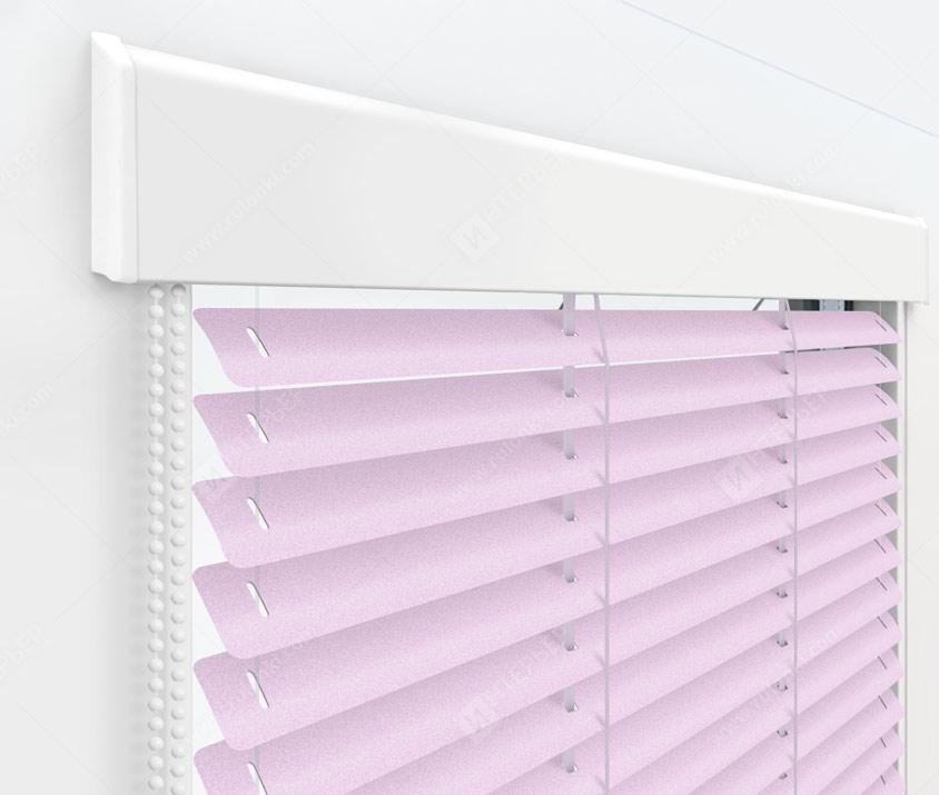 Жалюзи Изолайт 25 мм на пластиковые окна - цвет 211