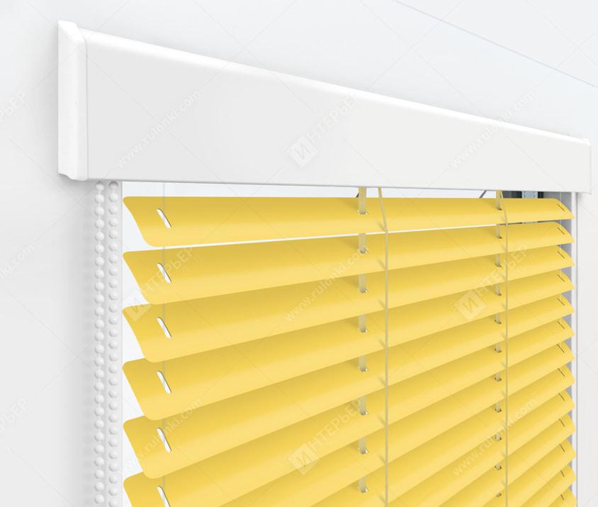 Жалюзи Изолайт 25 мм на пластиковые окна - цвет 39