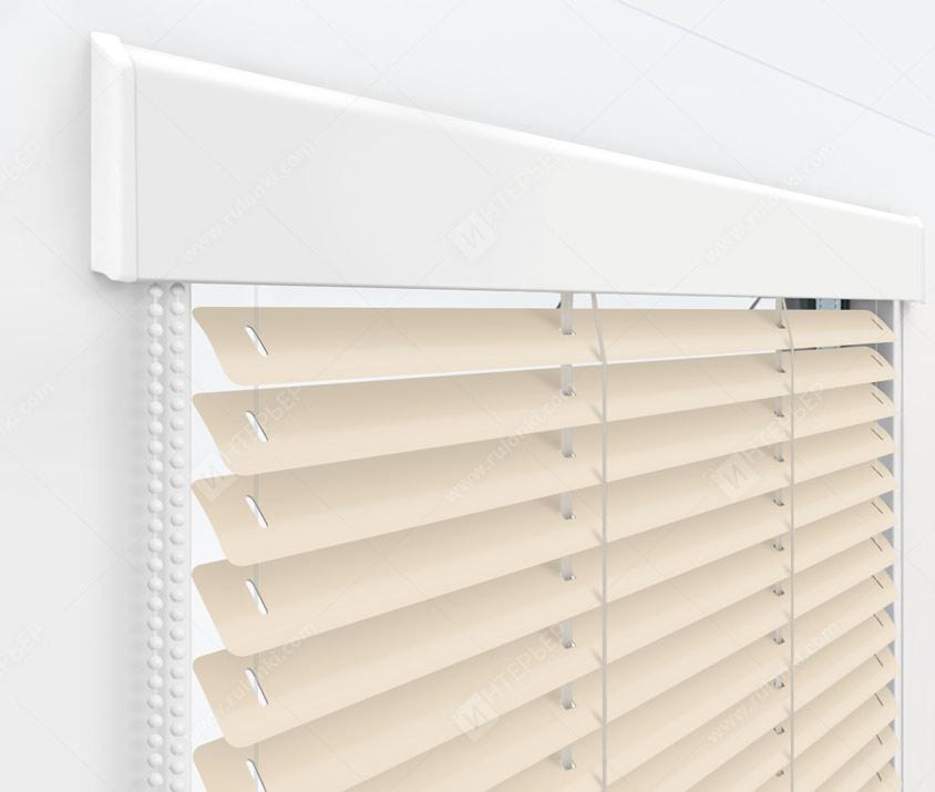 Жалюзи Изолайт 25 мм на пластиковые окна - цвет 497