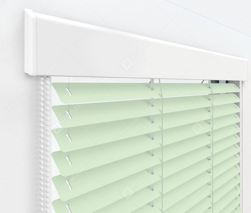 Жалюзи Изолайт 25 мм на пластиковые окна - цвет 532