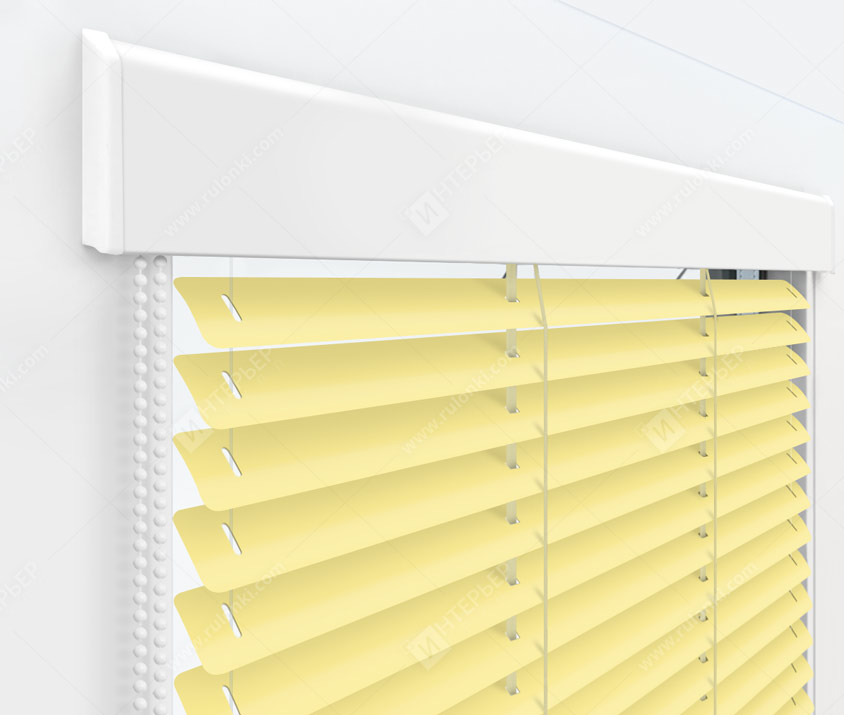 Жалюзи Изолайт 25 мм на пластиковые окна - цвет 611