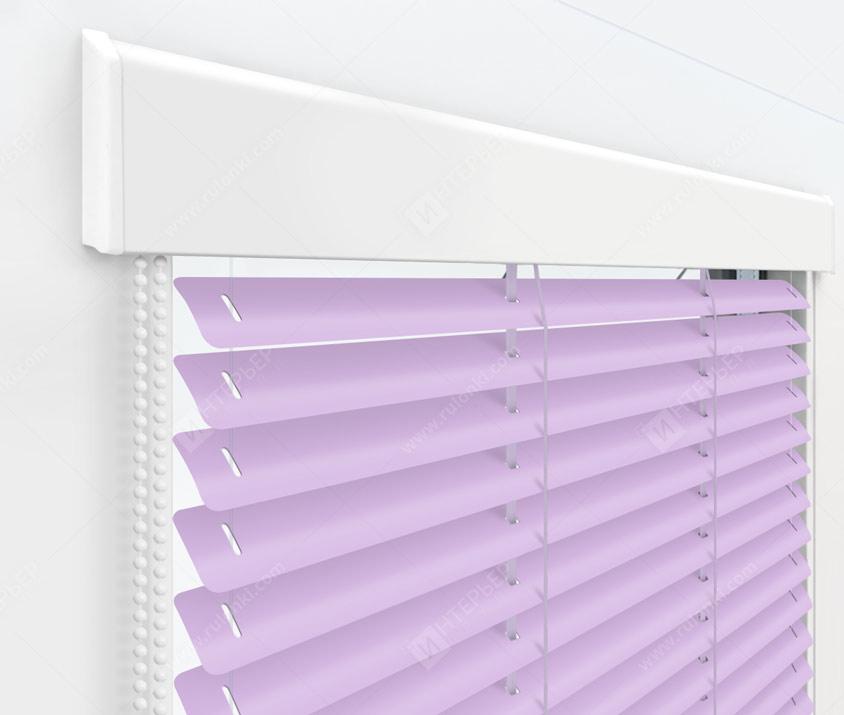 Жалюзи Изолайт 25 мм на пластиковые окна - цвет 730