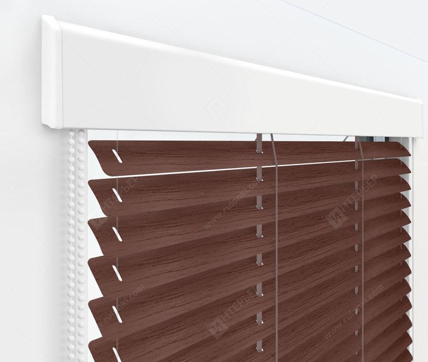 Жалюзи Изолайт 25 мм на пластиковые окна - цвет 772-098